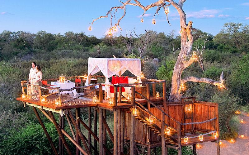12 Романтических кроватей в отелях Африки