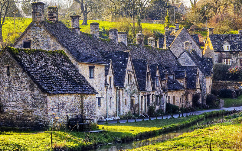 21 самая красивая деревня в Великобритании_1