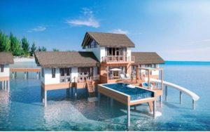 Cora Cora Maldives. Открытие 1 октября 2021 года.